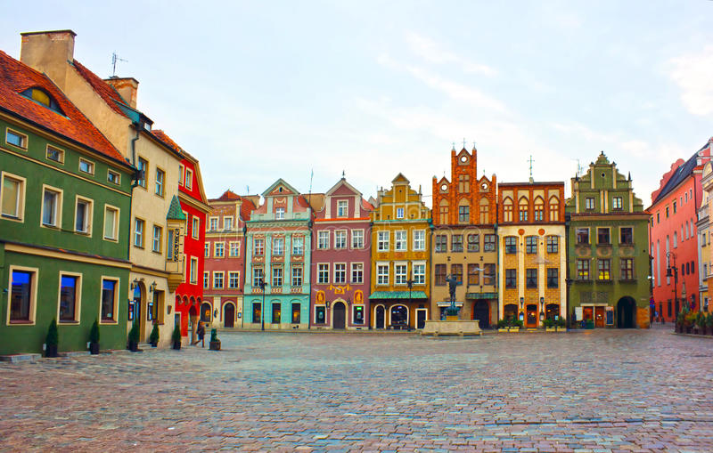 παλαιά πλατεία της Πολωνί&a στοκ φωτογραφία