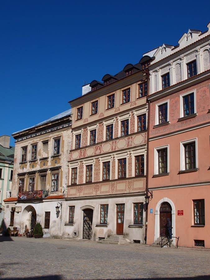 παλαιά Πολωνία πόλη του Lublin στοκ φωτογραφίες