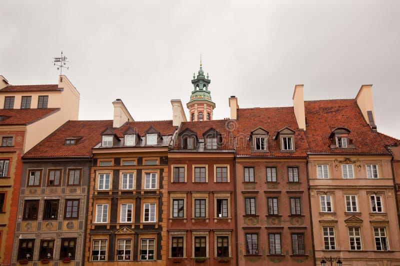 παλαιά πόλη Βαρσοβία στοκ εικόνες με δικαίωμα ελεύθερης χρήσης
