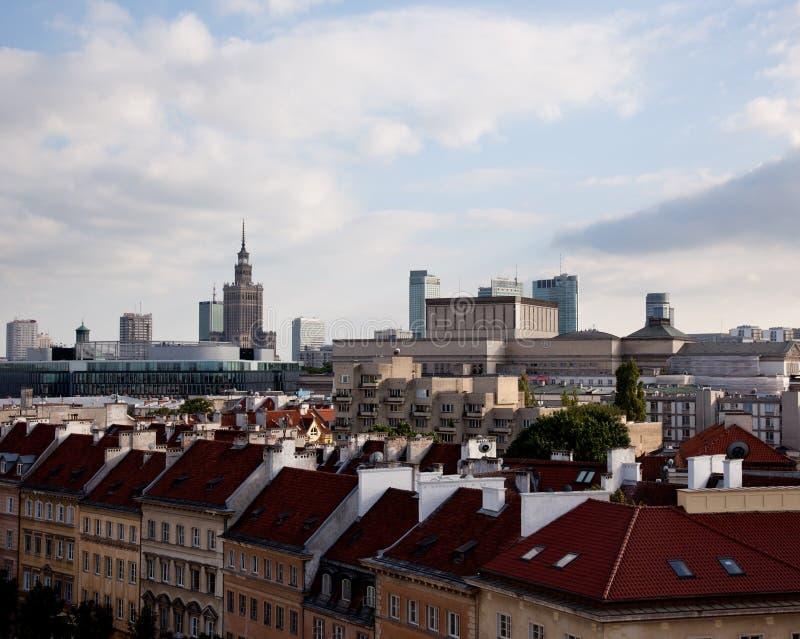 παλαιά πόλη Βαρσοβία στοκ εικόνες