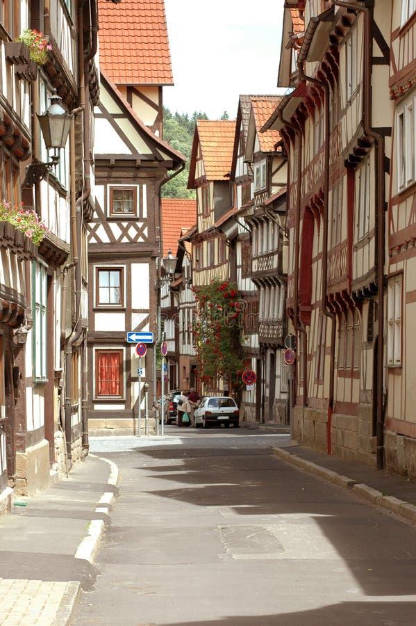 παλαιά πόλη οδών στοκ εικόνες