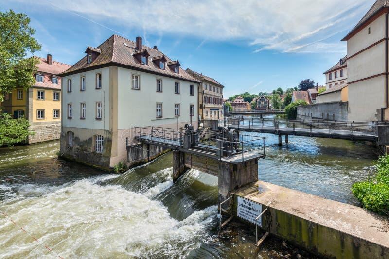 Παλαιά πόλη στη Βαμβέργη, Βαυαρία, Γερμανία στοκ φωτογραφίες με δικαίωμα ελεύθερης χρήσης