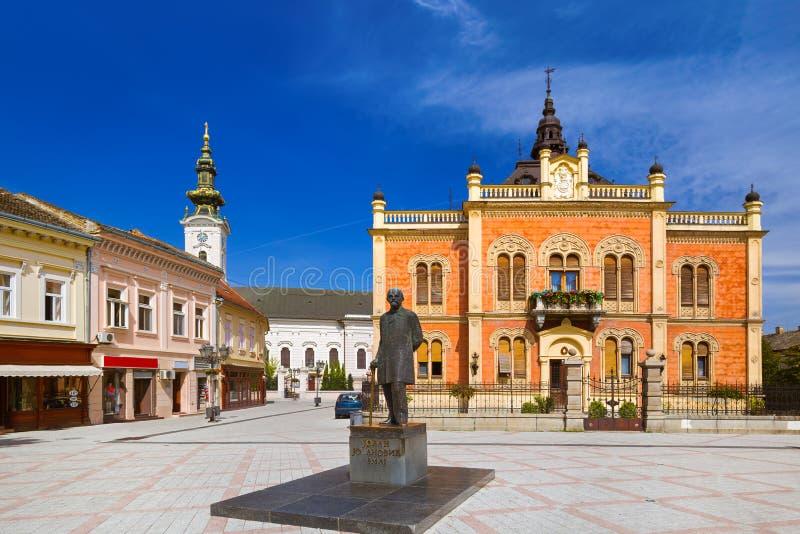 Παλαιά πόλη στο Νόβι Σαντ - τη Σερβία στοκ εικόνα με δικαίωμα ελεύθερης χρήσης
