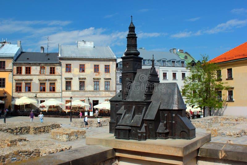 Παλαιά πόλη στο Lublin, Πολωνία στοκ φωτογραφίες με δικαίωμα ελεύθερης χρήσης