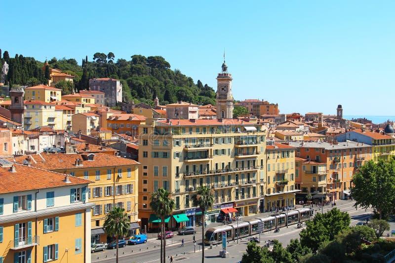 Παλαιά πόλη της Νίκαιας στοκ φωτογραφία