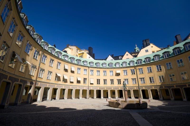παλαιά πόλη της Στοκχόλμης στοκ εικόνες
