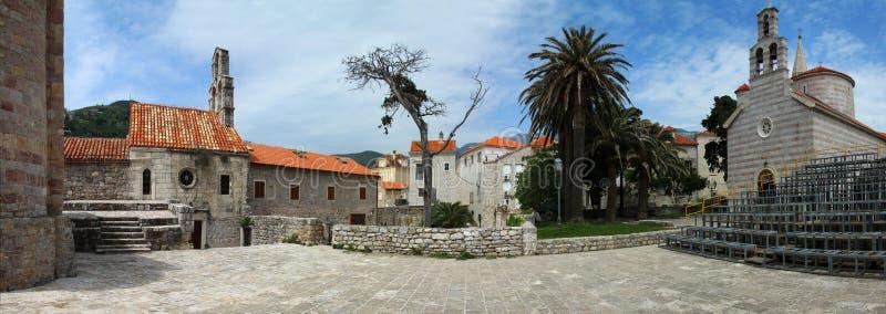 παλαιά πόλη του Μαυροβο&up στοκ φωτογραφία