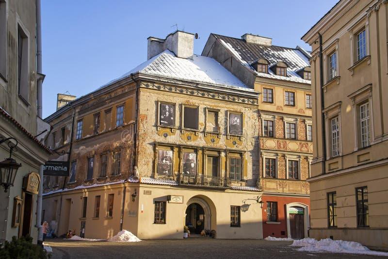 Παλαιά πόλη του Lublin, Πολωνία στοκ φωτογραφία με δικαίωμα ελεύθερης χρήσης
