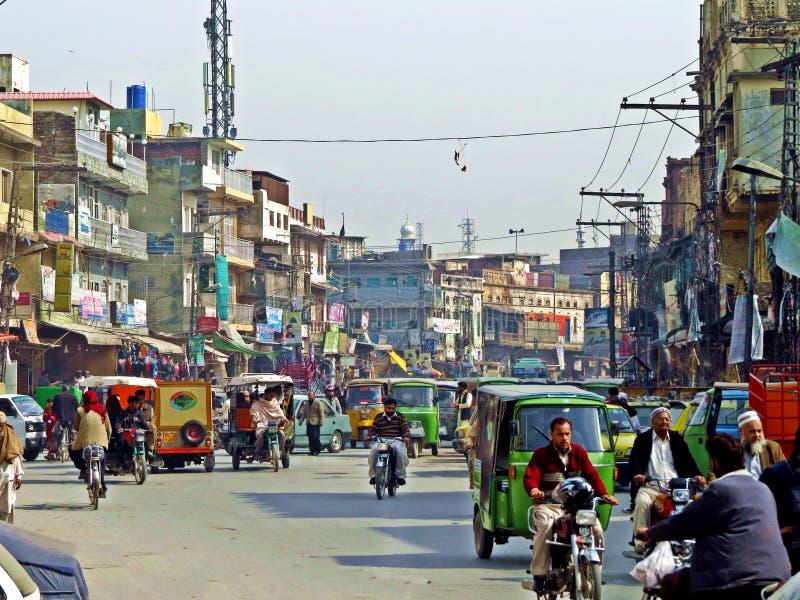 παλαιά πόλη του Rawalpindi, Πακιστάν στοκ φωτογραφία με δικαίωμα ελεύθερης χρήσης