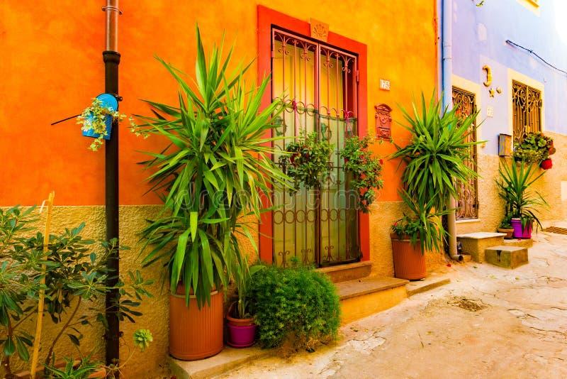 Παλαιά πόλη Alghero, Ιταλία στοκ φωτογραφίες με δικαίωμα ελεύθερης χρήσης