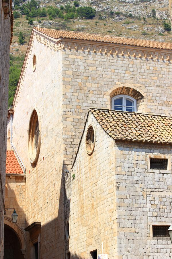 Παλαιά πόλη Dubrovnik στην Κροατία στοκ φωτογραφίες με δικαίωμα ελεύθερης χρήσης