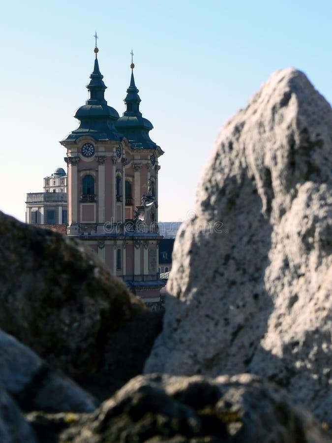Παλαιά πόλη Eger, Ουγγαρία στοκ φωτογραφία με δικαίωμα ελεύθερης χρήσης