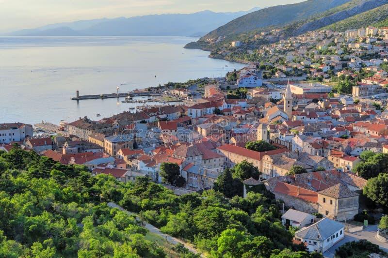 Παλαιά πόλη Senj, Κροατία στοκ φωτογραφία με δικαίωμα ελεύθερης χρήσης
