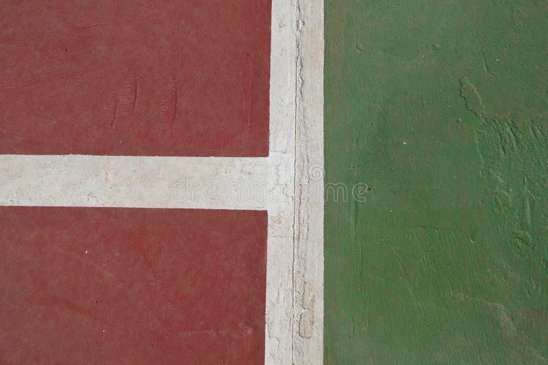 Παλαιά ράβδωση γηπέδων αντισφαίρισης στοκ φωτογραφία με δικαίωμα ελεύθερης χρήσης