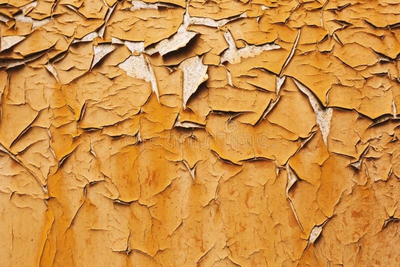 Παλαιά ραγισμένη σύσταση τοίχων στοκ φωτογραφία με δικαίωμα ελεύθερης χρήσης