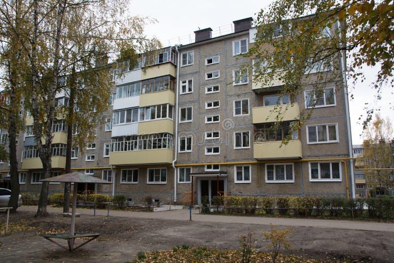 Παλαιά σοβιετική αρχιτεκτονική στοκ φωτογραφία