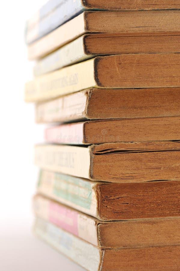 παλαιά στοίβα βιβλίων στοκ φωτογραφίες