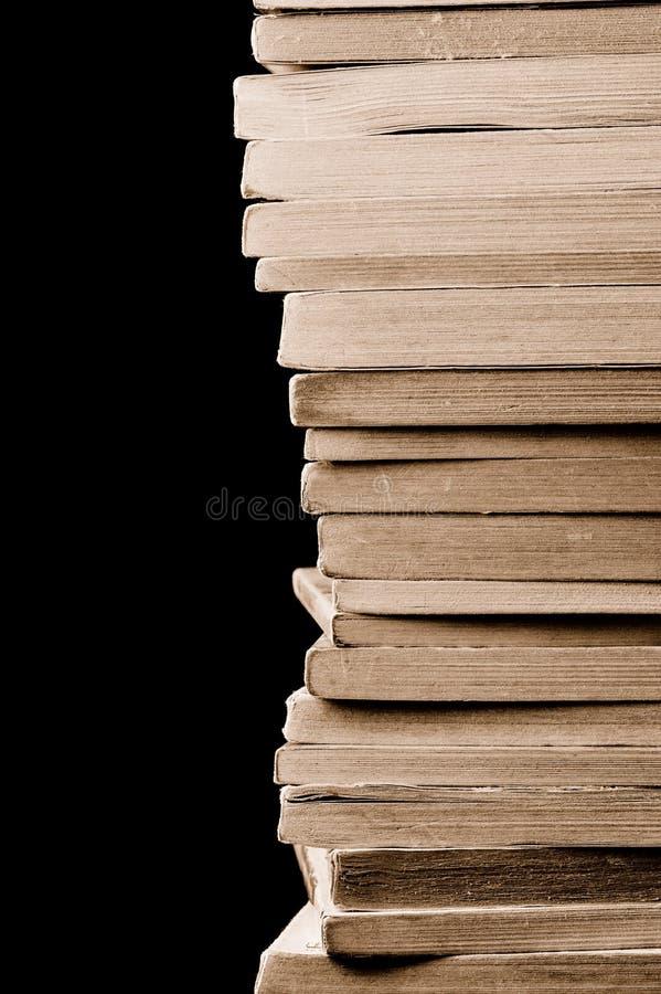 παλαιά στοίβα βιβλίων στοκ εικόνα