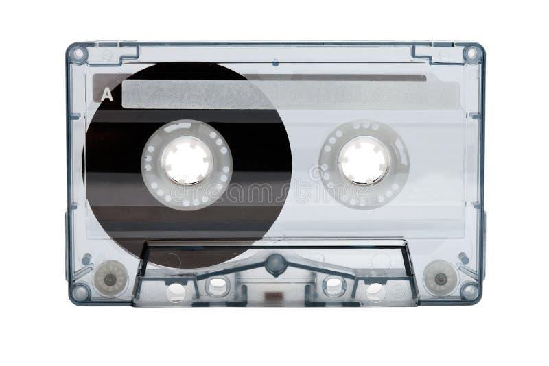 Παλαιά συμπαγής ηχητική κασέτα (ταινία) στοκ εικόνες