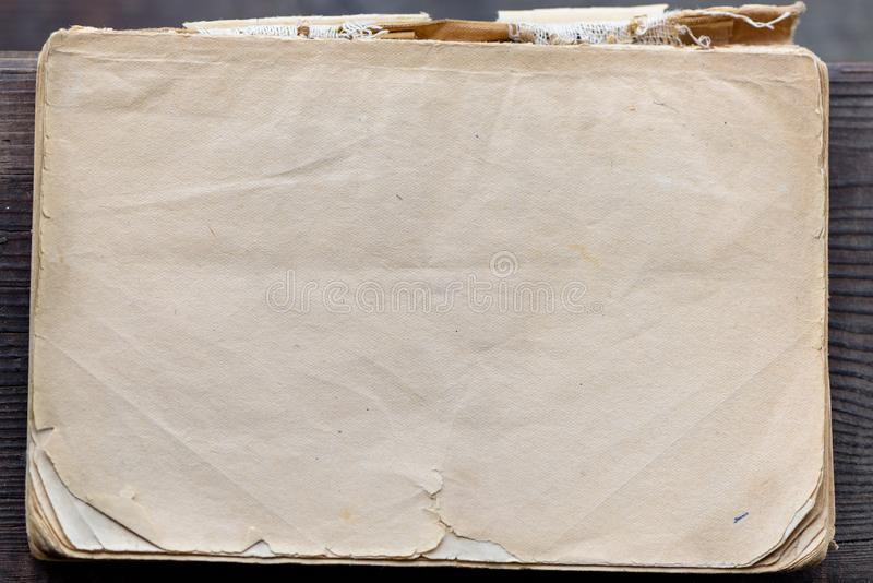 Παλαιά σύσταση εγγράφου Βρώμικη και κιτρινισμένη παλαιά σύσταση εγγράφου για το υπόβαθρο στοκ φωτογραφία με δικαίωμα ελεύθερης χρήσης