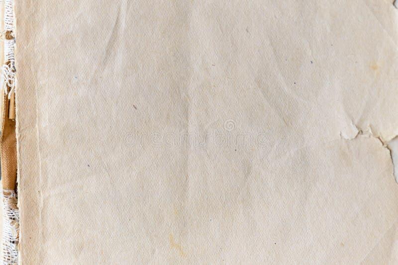 Παλαιά σύσταση εγγράφου Βρώμικη και κιτρινισμένη παλαιά σύσταση εγγράφου για το υπόβαθρο στοκ εικόνες