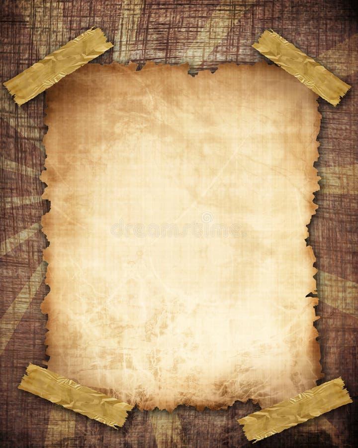Παλαιά σύσταση εγγράφου ελεύθερη απεικόνιση δικαιώματος