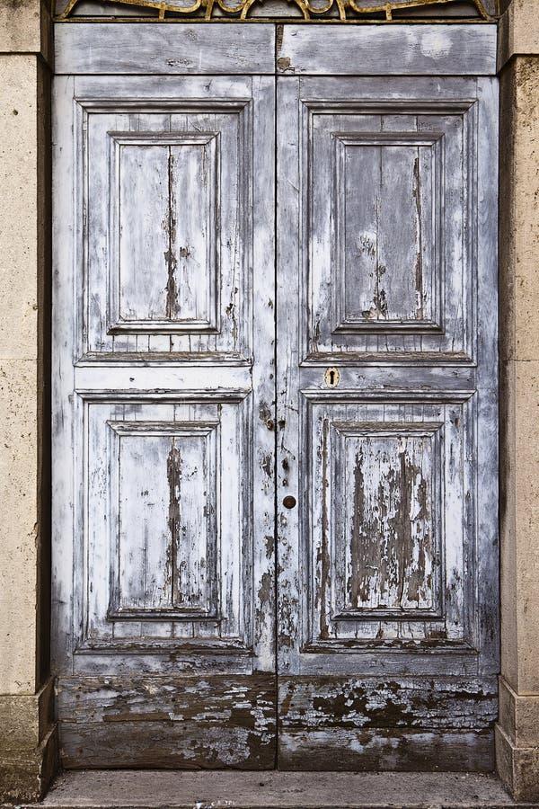 παλαιά σύσταση πορτών στοκ εικόνα