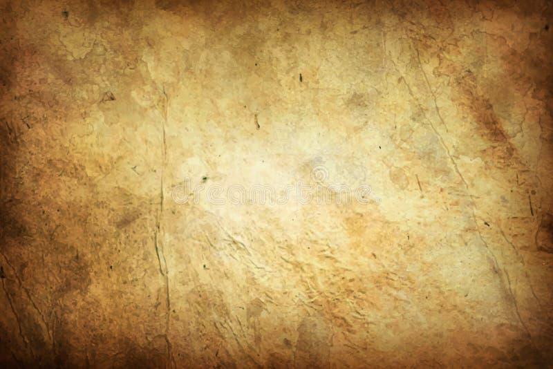 Παλαιά σύσταση Grunge υποβάθρου λευκώματος αποκομμάτων εγγράφου τέχνης απεικόνιση αποθεμάτων