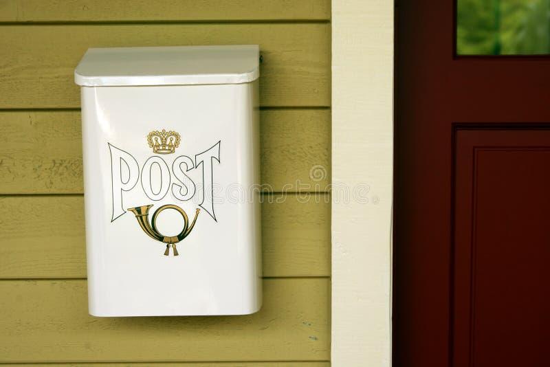 παλαιά ταχυδρομική θυρίδα στοκ εικόνες