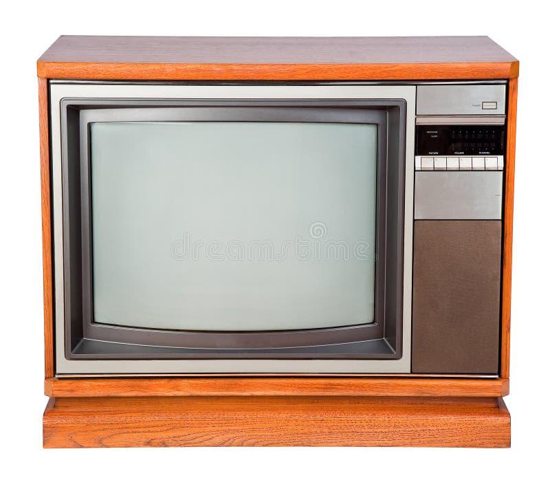 παλαιά τηλεόραση κονσο&lambda στοκ εικόνες με δικαίωμα ελεύθερης χρήσης