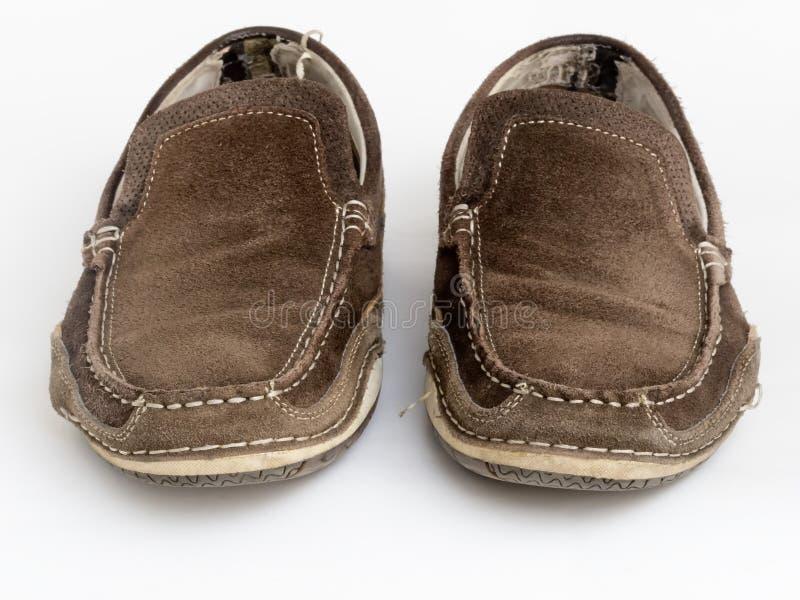 Παλαιά φορεμένα παπούτσια στοκ εικόνες με δικαίωμα ελεύθερης χρήσης