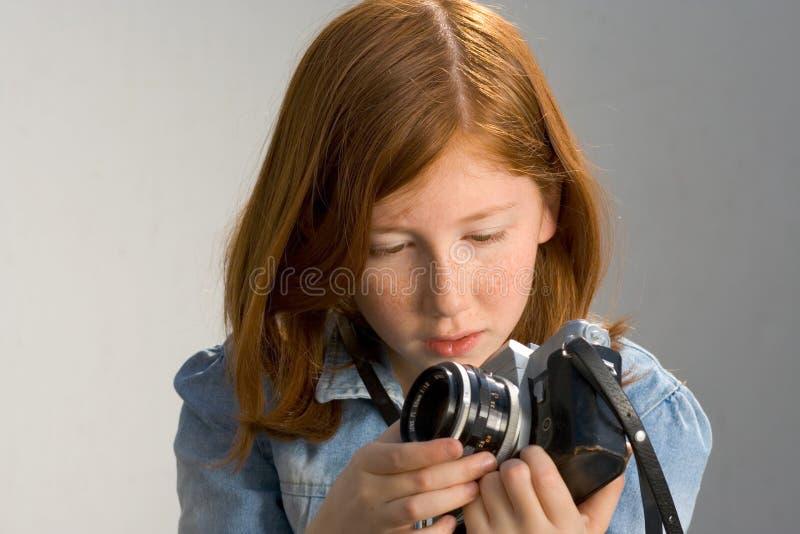 παλαιά φωτογραφία κοριτ&sigm στοκ φωτογραφία με δικαίωμα ελεύθερης χρήσης