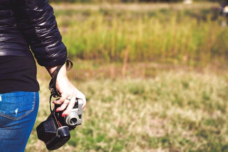 παλαιά φωτογραφία φωτογραφικών μηχανών στοκ εικόνα με δικαίωμα ελεύθερης χρήσης
