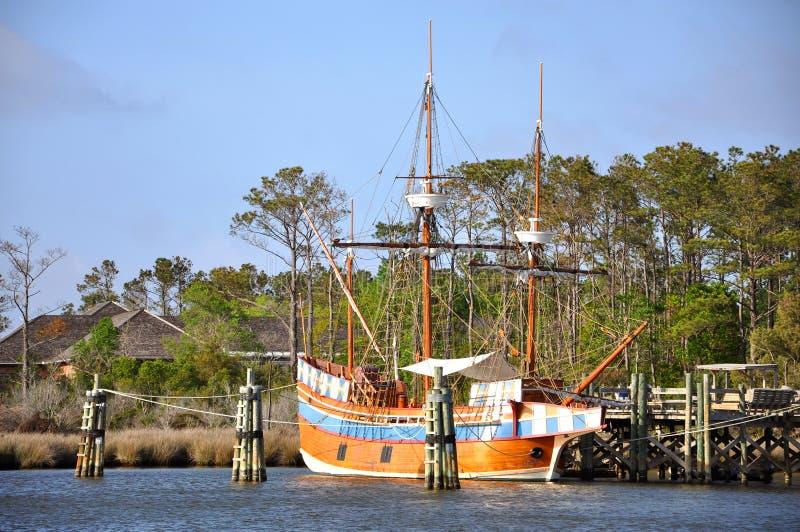 παλαιά Elizabeth ΙΙ σκάφος στοκ εικόνες