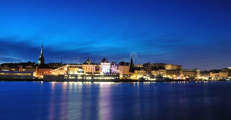 παλαιά stan πόλη της Στοκχόλμη& στοκ φωτογραφία