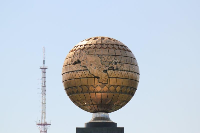 παλαιά TV Ουζμπεκιστάν πύργ&ome στοκ φωτογραφίες με δικαίωμα ελεύθερης χρήσης