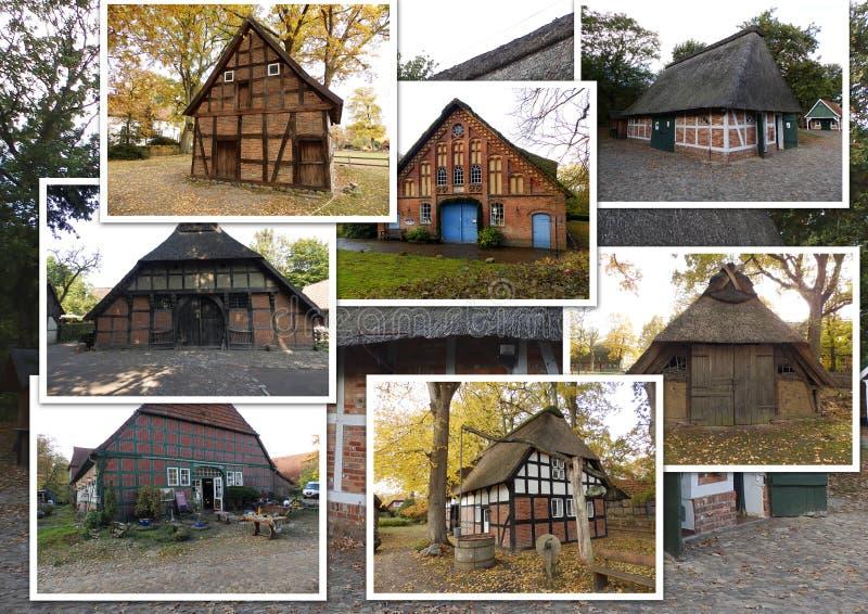 Παλαιές αγροικίες στη Γερμανία 3 στοκ εικόνες