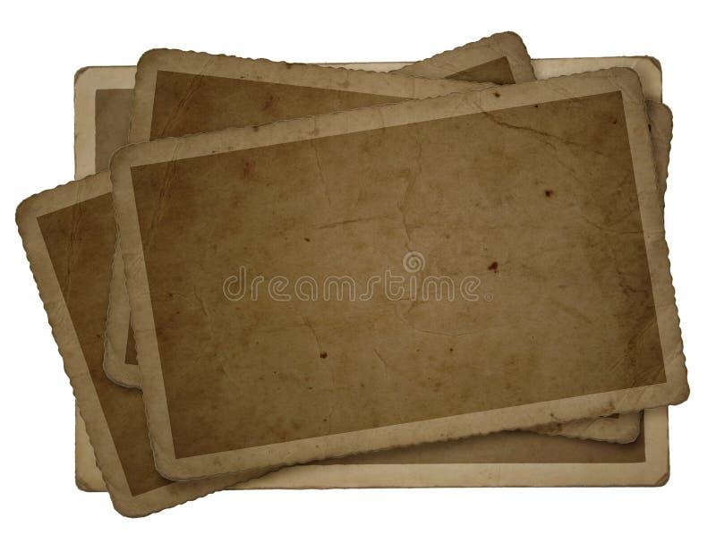 παλαιές συστάσεις φωτο&g διανυσματική απεικόνιση