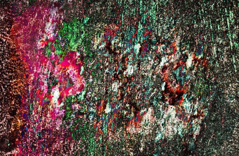 Παλαιές χρώμα και σκουριά στοκ φωτογραφίες με δικαίωμα ελεύθερης χρήσης