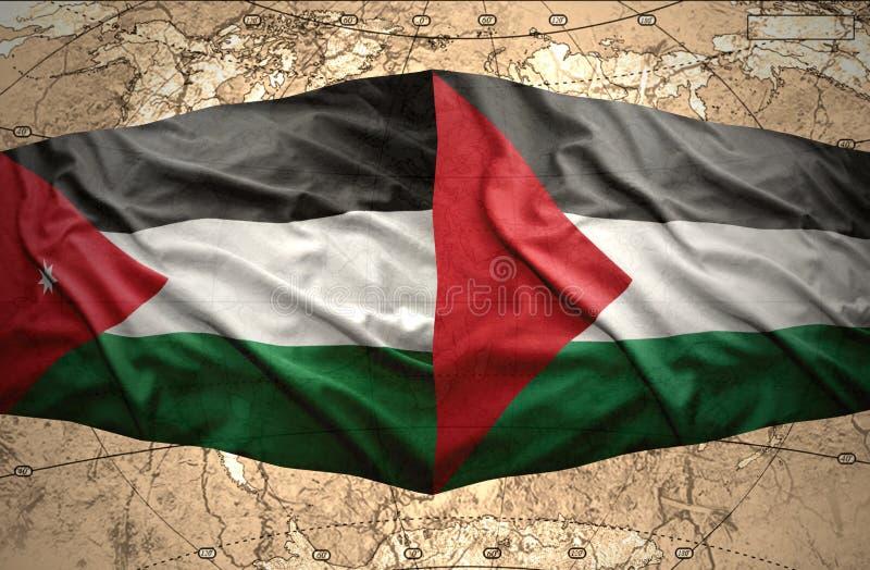 Παλαιστίνη και Ιορδανία ελεύθερη απεικόνιση δικαιώματος