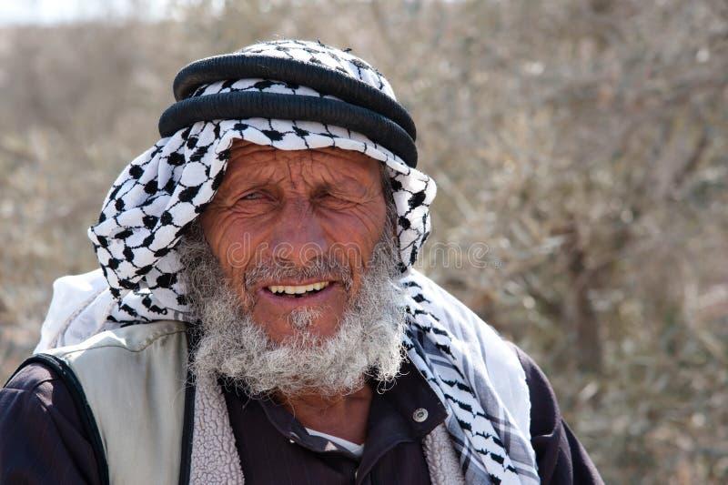 παλαιστινιακός χωρικός στοκ φωτογραφία