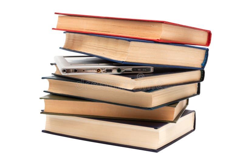 παλαιός αναγνώστης βιβλί&omeg στοκ φωτογραφία