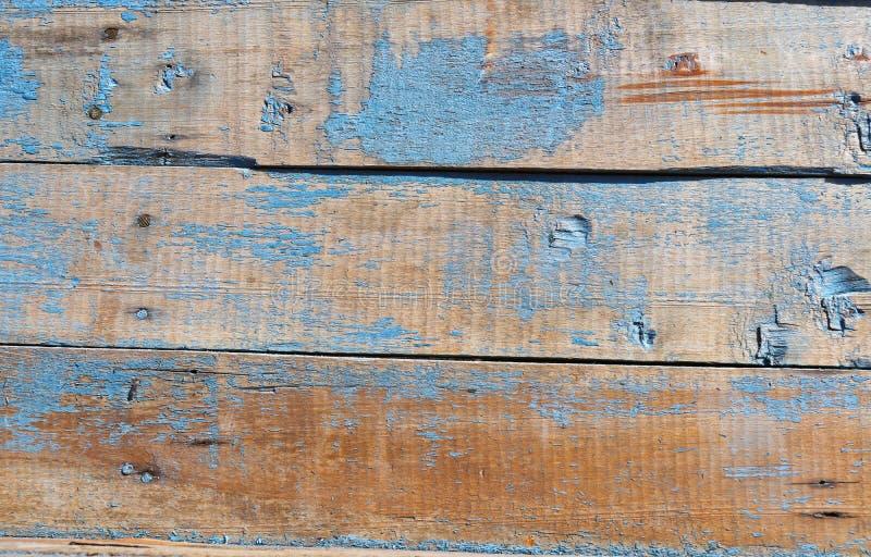 Παλαιός από ξύλινα slats χρόνου, βροχής και χιονιού στοκ εικόνα