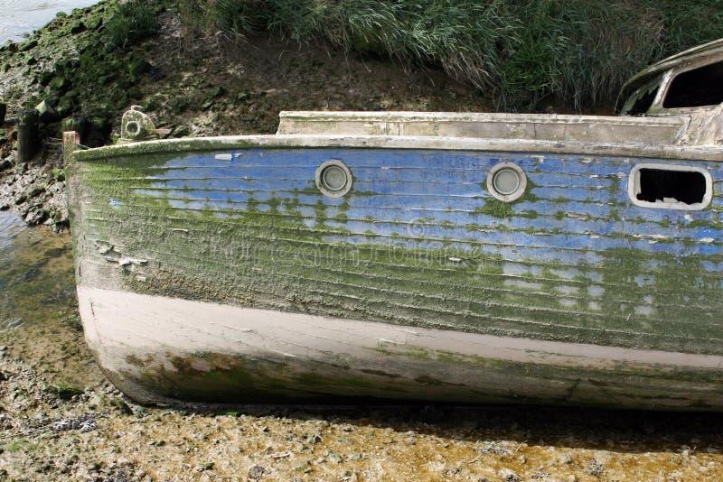 παλαιός βαρκών που ναυαγ στοκ εικόνες