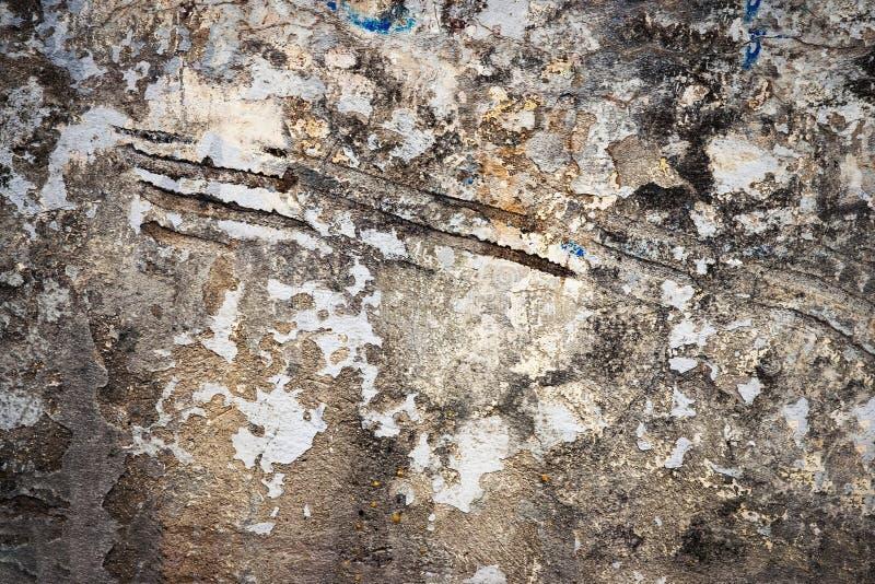 Παλαιός γρατσουνισμένος άσχημος τοίχος στοκ εικόνες