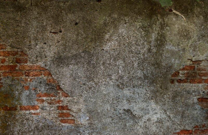 Παλαιός εκλεκτής ποιότητας τουβλότοιχος, τουβλότοιχος ρωγμών, βρώμικα αναδρομικά χρώματα κατασκευασμένα, σχέδιο, ταπετσαρία r στοκ εικόνες