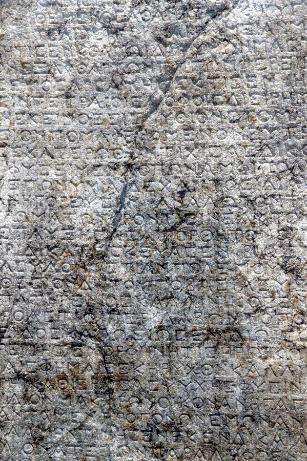 παλαιός ελληνικός τρύγος καρτών επιγραφών στοκ φωτογραφία