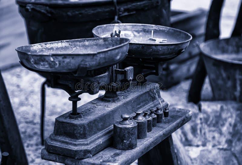 Παλαιός ζυγός στοκ φωτογραφία με δικαίωμα ελεύθερης χρήσης