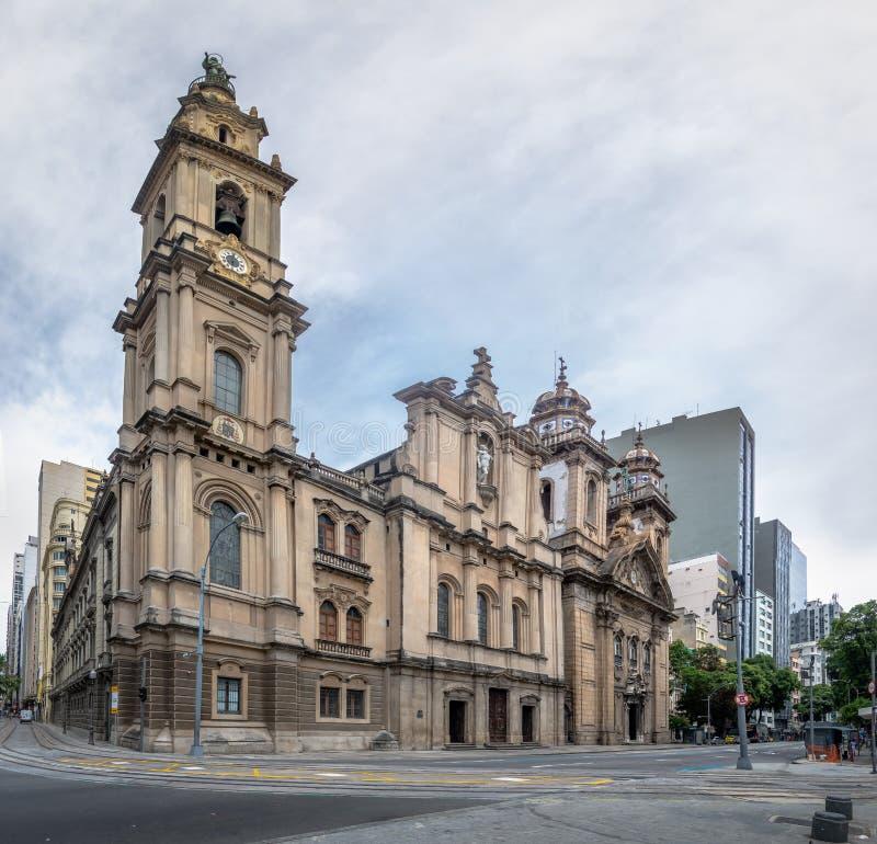 Παλαιός καθεδρικός ναός του Ρίο ντε Τζανέιρο - εκκλησία της κυρίας υποστηρίγματός μας Carmel του αρχαίου SE - Ρίο ντε Τζανέιρο, Β στοκ φωτογραφία με δικαίωμα ελεύθερης χρήσης