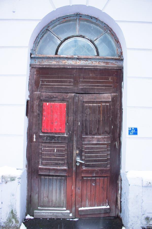 παλαιός κόκκινος ξύλινο&sigma στοκ φωτογραφίες